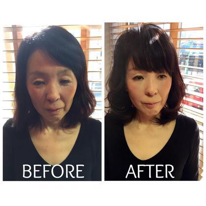 大人女性におすすめしたい【−5歳の前髪】 HAIR&LIFEC所属・苅田茂樹のスタイル