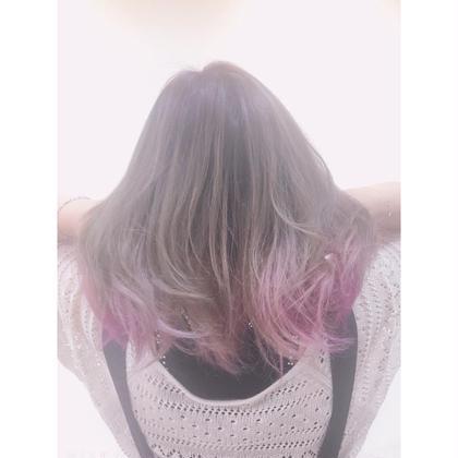 色を楽しむ🌈✨裾カラーorグラデーションカラー+全体カラー+トリートメント💓