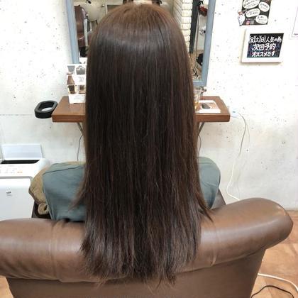 🐾5月限定🐾ブリーチなしの艶髪カラー🧸