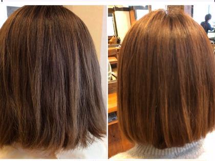 収まりの良い髪へシフトチェンジ❣️【ストリートメント】