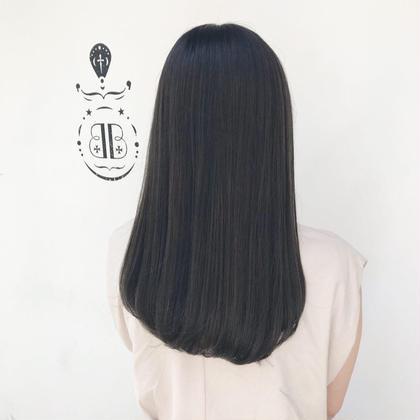 【髪質改善ダメージレス酸性ストレート♪】酸性ストレート+潤つやTR ¥8200