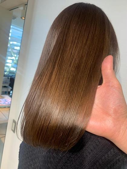 🟥🟩今だけ価格‼️話題の髪質改善サイエンスアクア+ダメージレスカラー+oggi ottoTRが15400円🟦🟨