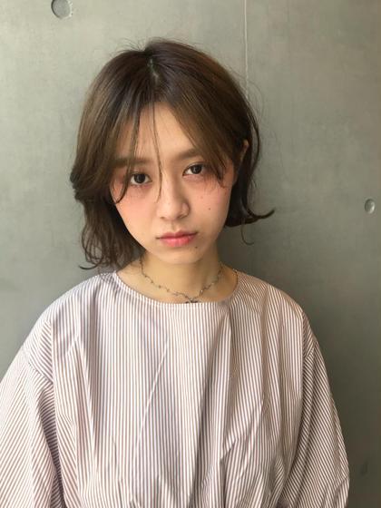 ♡人気メニュー♡枝毛cut +シースルーカラー