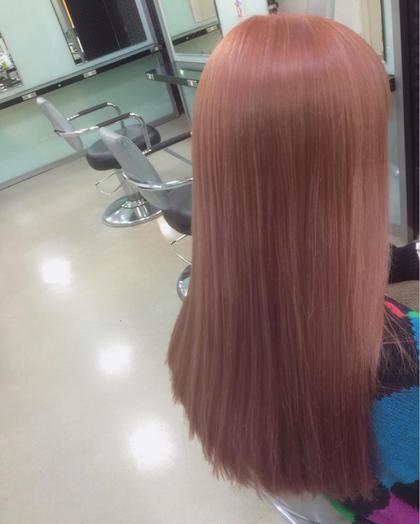カラー ショート セミロング ミディアム メンズ ロング 淡いピンク