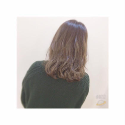 パーソナルカラーのブラウン強めのカラーリング A/LEE所属・久保田千尋のスタイル