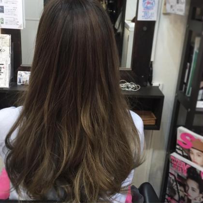 Blanc hairworkshop所属・おかやまみきのスタイル