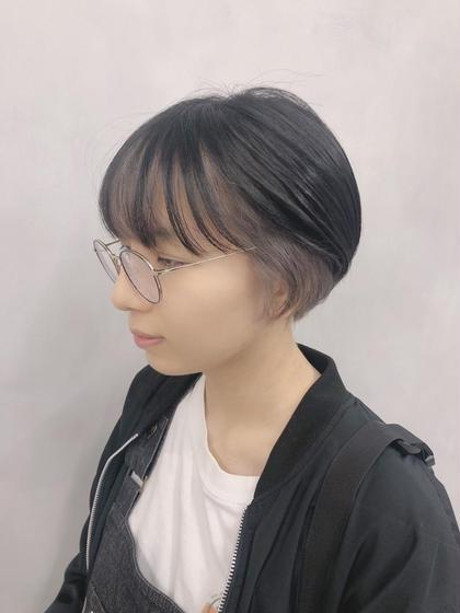 ✨フェイスフレーミングカラー✨(ブリーチ1回無料)(もみあげ+前髪)&トリートメント