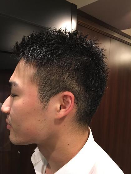 サラリーマン 清潔カット ヒロ銀座田町店所属・光吉健太朗のスタイル