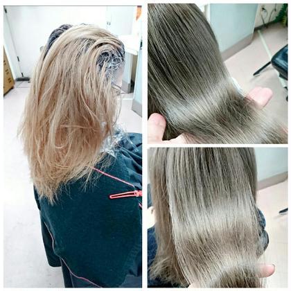 モノトーン系でシックなイメージ VIPDIMENSION+cheveu所属・井上奨のスタイル