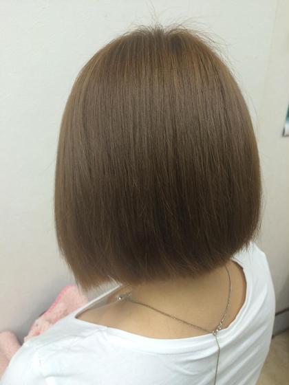 水素トリートメントで、 ブリーチ毛も復活♡ mAhalo hair所属・伊藤尚貴のスタイル