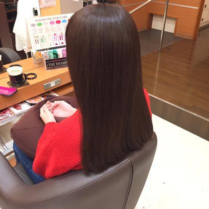 今流行りのグレー系カラーもオススメです! 髪質改善専門店 Mellhairdesign所属・北川慎悟のスタイル
