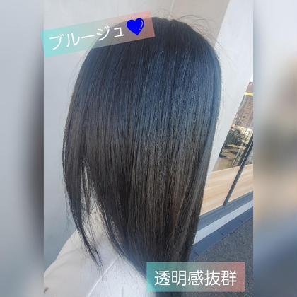 【モデル(カットのみ)】カット+フルカラー ¥8,960←¥4,200
