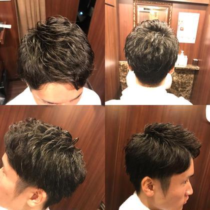 #メンズ #刈り上げ #ツーブロック #アイロンパーマ 渋谷たくみのメンズヘアスタイル・髪型