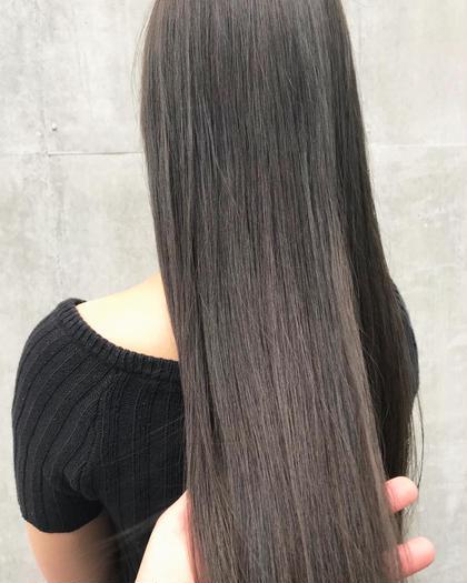 ストレートor縮毛矯正、超音波3ステージトリートメント炭酸スパ✨【ナチュラルにしっかり癖を伸ばして最高の美髪へ✨】