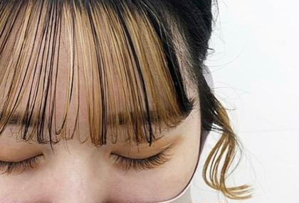 👯♀️前髪カット + ワンカラー 👯♀️