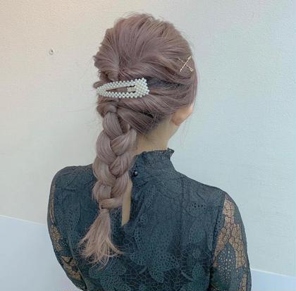 hair set🎀  結婚式のお呼ばれヘアアレンジ👗💕