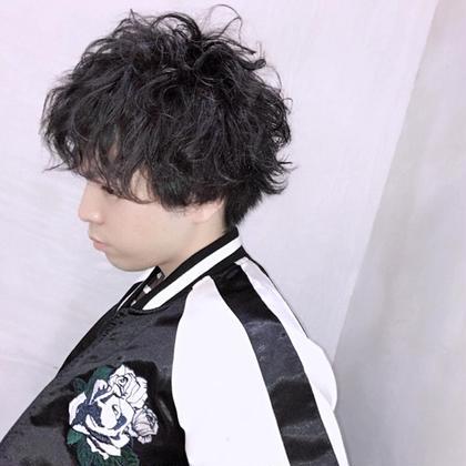 メンズパーマスタイル✨ coni所属・羽多野美鈴のスタイル