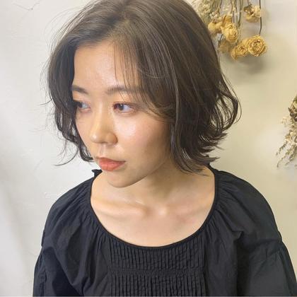 【平日学生限定✨】うる艶カラー&カット&ハホニコ集中トリートメント