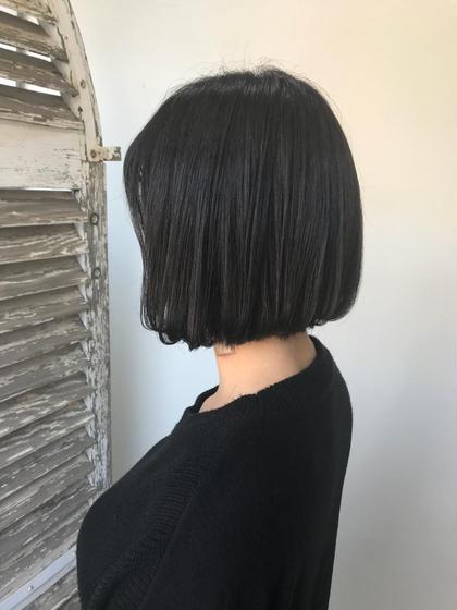 【👑予約1位👑】小顔カット✂️+イルミナカラー+炭酸泉シャンプー+髪質改善ケアトリートメント✨