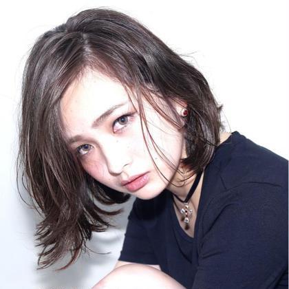 🎵5月限定🌟🌟髪再生イルミナカラーorアディクシーカラー&3stepトリートメント🎵グレージュ