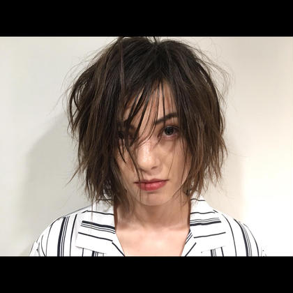 Sui所属の新地琢磨のヘアカタログ