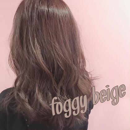 🌈カラークーポン🌈前髪カット+透明感抜群カラー+極上3stepトリートメント