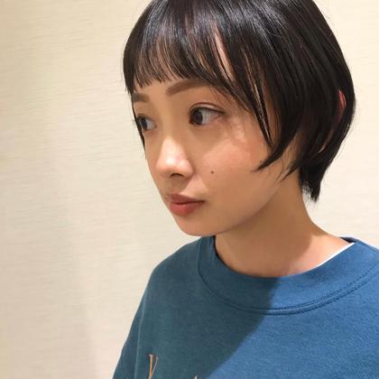 🌿前髪カット+コテ巻きセット🌿