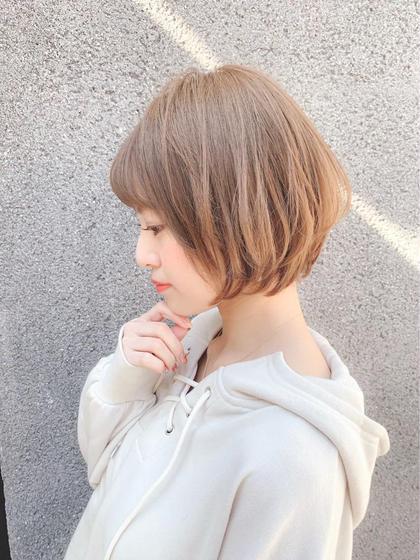 🌈就活終わりのあなたへ🌈小顔カット➕黒染め落としカラー➕うる艶トリートメント