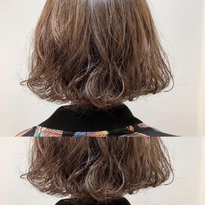 <お手入れ簡単💘ゆるふわモテ髪✨> デジタルパーマ&カット&うる艶Tr