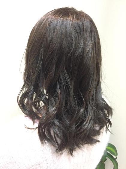 赤みを抑えたブルーアッシュ♪ CIEL Hair Salon所属・平塚大貴のスタイル