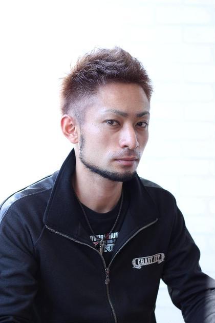 アップバングショート ヘアークリアー谷塚所属・石鳥孝男のスタイル