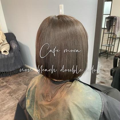 🆕美髪✨髪質改善ストレート+ハイブリッドTR   ※カット追加は4000円