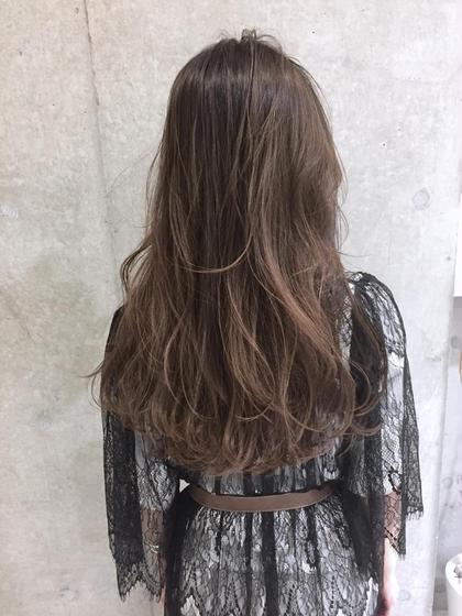 『新規限定 バレンタイン企画』カット & カラー⭐︎オールフリーの安全な美髪カラー シャンプー別¥550