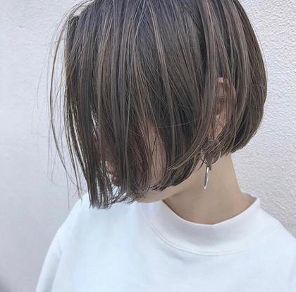 ショートボブ akari♡のショートのヘアスタイル