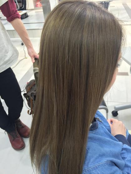 外国人風ベージュカラー! Blanc hair所属・浅田大輝のスタイル
