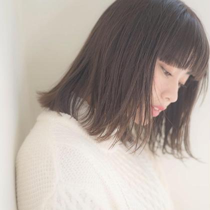 【人気No.1✨】前髪カット&透明感カラー&うる艶トリートメント&オーガニックシャンプー ♡⁺.