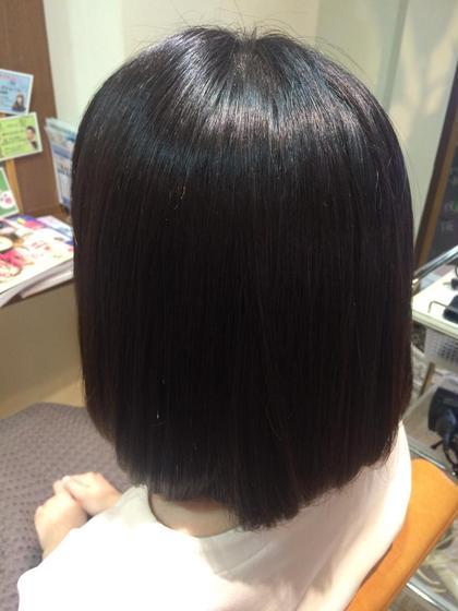 ストレートパーマ★ noTice所属・takanomihoのスタイル