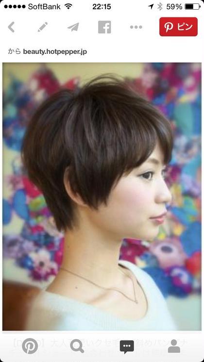 首元スッキリ、絶壁解消のスタイル! 今年オーダー多数の人気のショートヘアです!大人可愛いを代表とするくせ毛風ショート DECO所属・hozumisatoshiのスタイル