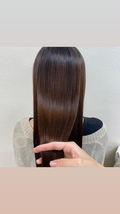 ♥透明感カラー+髪質改善トリートメント♥