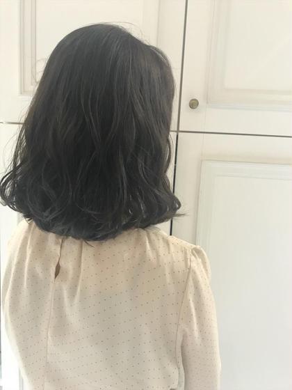 [❤️ミニモ新規限定50%offクーポン❤️]前髪カット&透明感カラー&最高級Aujuaトリートメント