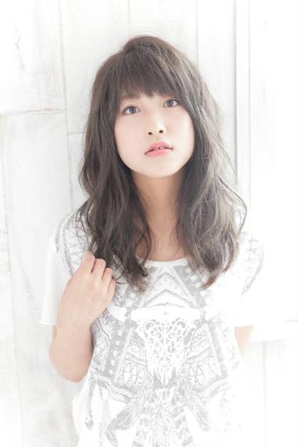 外国人風カラーで、クールな可愛さ♡ Hair Salon Sorcier所属・笠木映李のスタイル