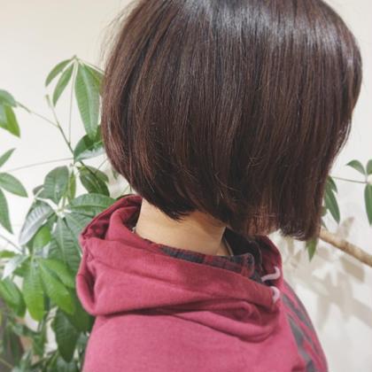 《髪質改善チューニング》で、表面の収まりを良くしました