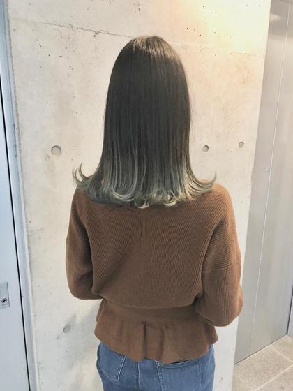 #外国人風カラー#ホワイトベージュ Hair DesignHaC所属・大山明洋のスタイル