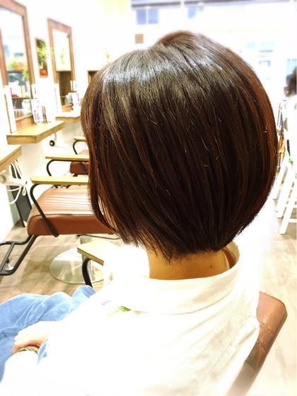 🌷明るめカラーの白髪染め🌷美髪トリートメントつき