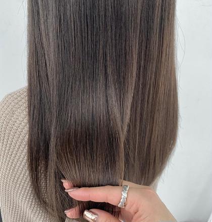 業界話題沸騰💫髪質改善カラー マグネットカラー ➕ カット ➕ トリートメント