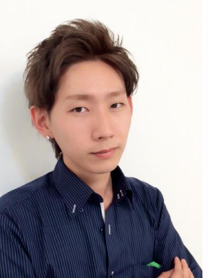 メンズもおまかせ☆アップバングショート☆ Amuy  oti アミュイオティ所属・木下旬起のスタイル