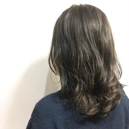 💝リピート多数!似合わせカット+ツヤ感イルミナカラー+TOKIOトリートメント【白髪染め対応】