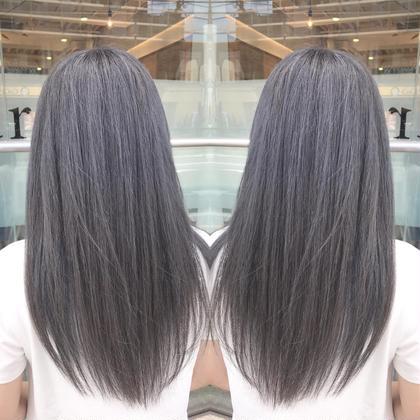 ❾【 髪質改善 】カット & コスメストレート ⭐︎ 極潤 うる艶トリートメント