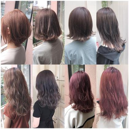 💕話題のケアブリーチ💕ダメージ94%cut+透明感カラー+髪質改善グロスアップトリートメント