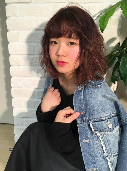 女の子らしいピンクカラーで甘めスタイル♪ Hair&Make PARIER所属・三木 千鶴のスタイル